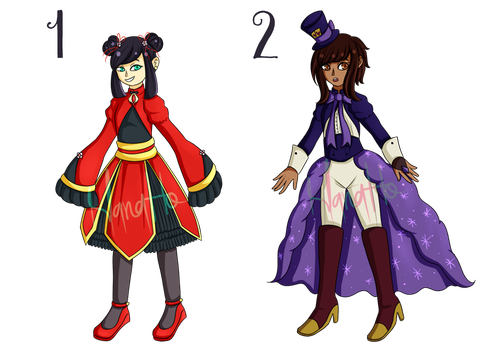 [CLOSED 2/2] Magical adopts by Teru-Pion