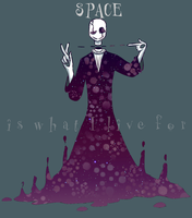 Staaaars and Gaster by Ghost-Of-Tea