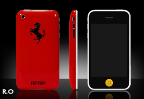 Ferrari iPhone 3G by RamseyOfficial