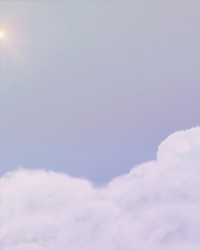 Above the clouds WIP by Vixxiin