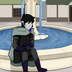 By The Fountain by Nanotide