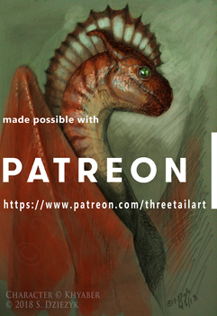 Patreon Tease - Khyaber by LeccathuFurvicael