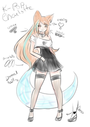 k-pop Charlotte! by isi-chisi
