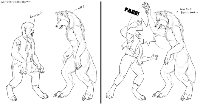 Wolfman Fail by sugarpoultry