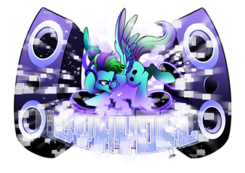 commission for greenlips dj edit! by Dormin-Kanna