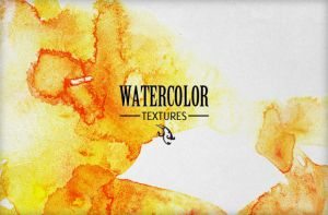 WG Watercolor Textures Vol1 by wegraphics