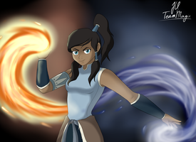 Legend of Korra by teammagix