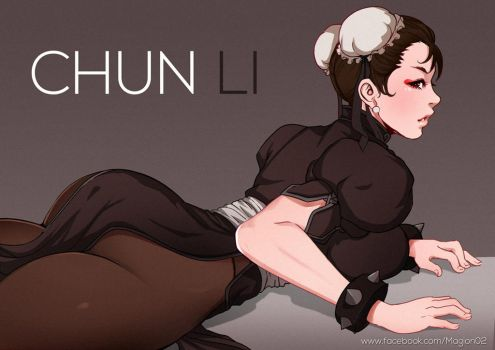 Dark Chun Li by magion02