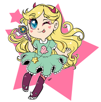 Star Butterfly by Cysco-Inu