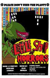 Little Shop of Horrors Poster by JAYDAYNE
