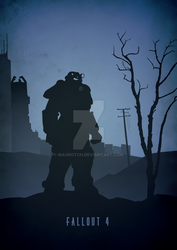 Power Armor (Recolor) - Fallout 4 by MauroTch