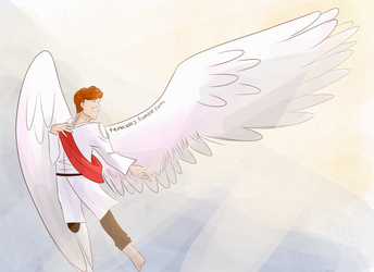 A Winged Prince by tenables