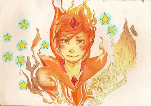 Flame Prince Adventure Time by Darkrender666