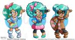 Faux Facts Rainbow Costume Row 2 by MaryBellamy