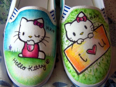 Hello_Kitty_Shoes by KathyAlejandra