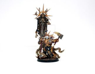 Stormcast Lord Relictor by frostbumblebee