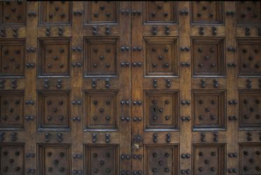 Door texture with nails by enframed