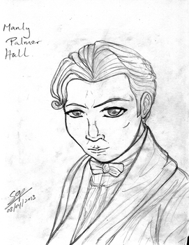 Manly P Hall :Tribute Sketch: by Sop-sama