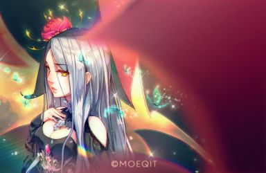 The Galactic Goddess by moeqit