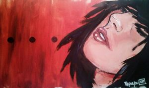 Acrylique Session 3 by Papay0u