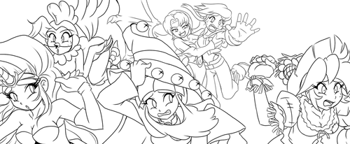 halloween magic (incomplete) by mauroz