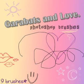 Garabats Brushes by xLeirex