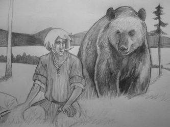 dontsearchgooglefor'bearman' by SaskiaDeKorte
