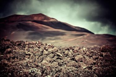 Timanfaya 1 - Painted dunes by yv