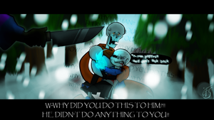 Undertale -  I-I TRUSTED YOU. . . by Phione538