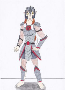 Pumyra in Mumm-Ra Armour (Requested) by OkamiRyuu1993