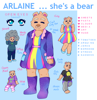 Arlaine Ref by theYasha