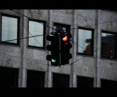 Traffic light by razaki