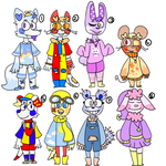 3/8 OPEN! Set Price Collab Kidcore Adopts! by Ballistic-B