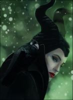 FA Maleficent Once  Upon A Dream by missimoinsane