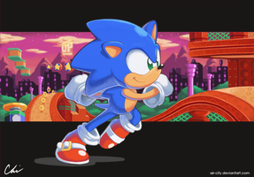 Sonic On Springs by Air-City
