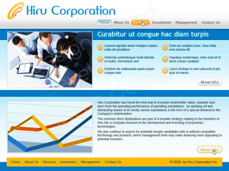 Hiru Corporation by iodic