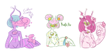 Slugoii guest artist adopts - open by 100LesbianAsses