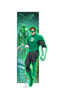 Green Lantern commission by phil-cho