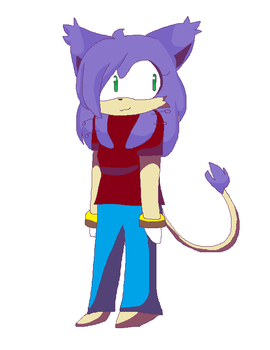 A Delcatty x Sonic OC fusion I guess by Bethdacat