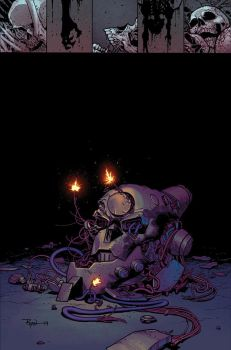 INVINCIBLE 114 cover uhoh Robot by RyanOttley