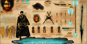 Talen Reference Sheet by Ruanly