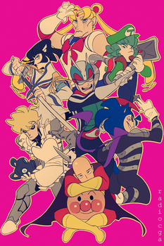 One Punch Man: can you name all of their crossover by RadioMomo