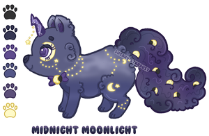 16 Midnight Moonlight || CLOSED by Sugary-Stardust