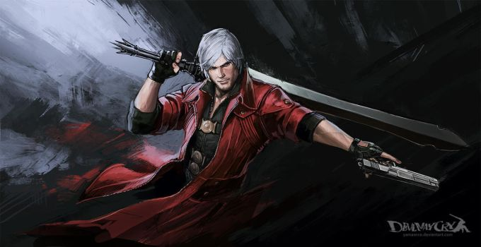 Devil May Cry-Dante by YamaOrce