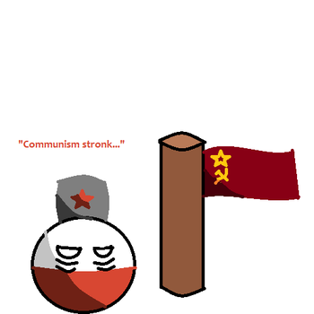 The People's Republic of Polandball by SpringTrapthebest