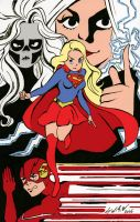 Supergirl X Flash by DisintegrationStreet