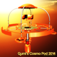 MMD Gumi's Cosmo Pod 2014 by Trackdancer