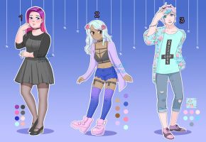 Pastel goth adopts OPEN and on sale! 10% OFF by lyseeart
