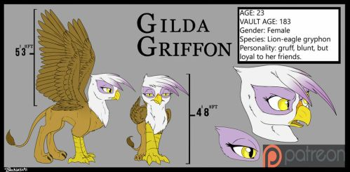 Gilda Reference Sheet by Backlash91