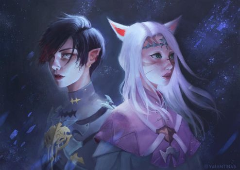 Commission: FFXIV by valentina-s